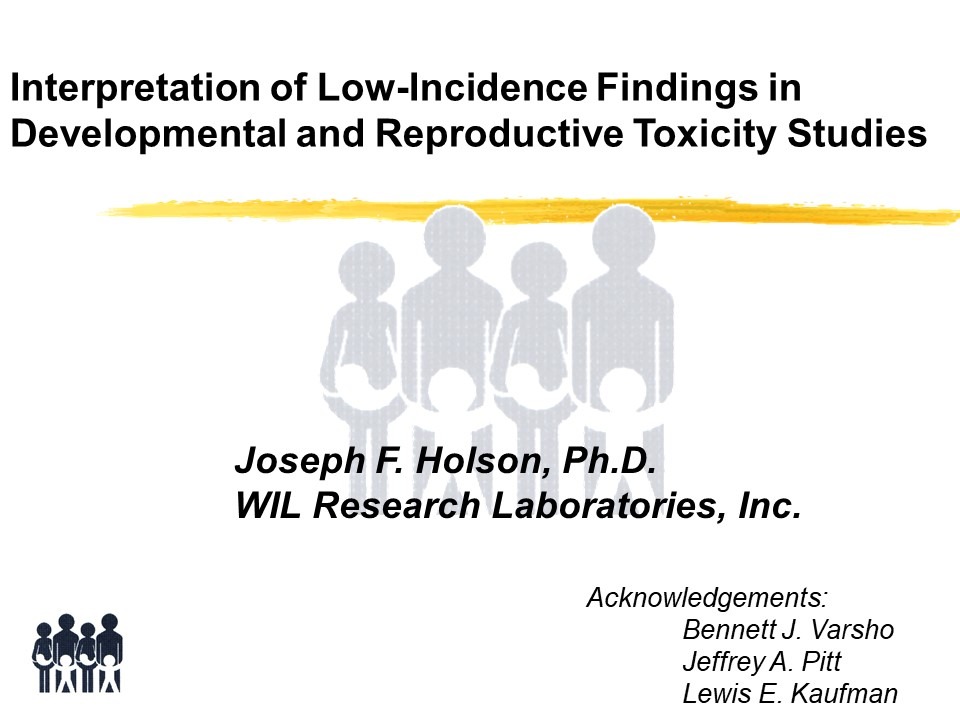 reproductive toxicology studies pdf